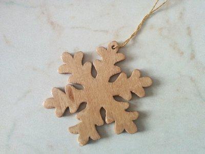 Addobbi per albero di Natale: fiocco di neve
