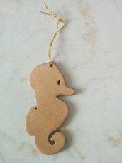 Addobbi per albero di Natale: cavalluccio marino