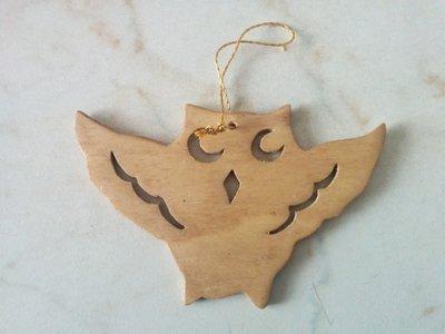 Addobbi per albero di Natale: gufetto (tipo 1)