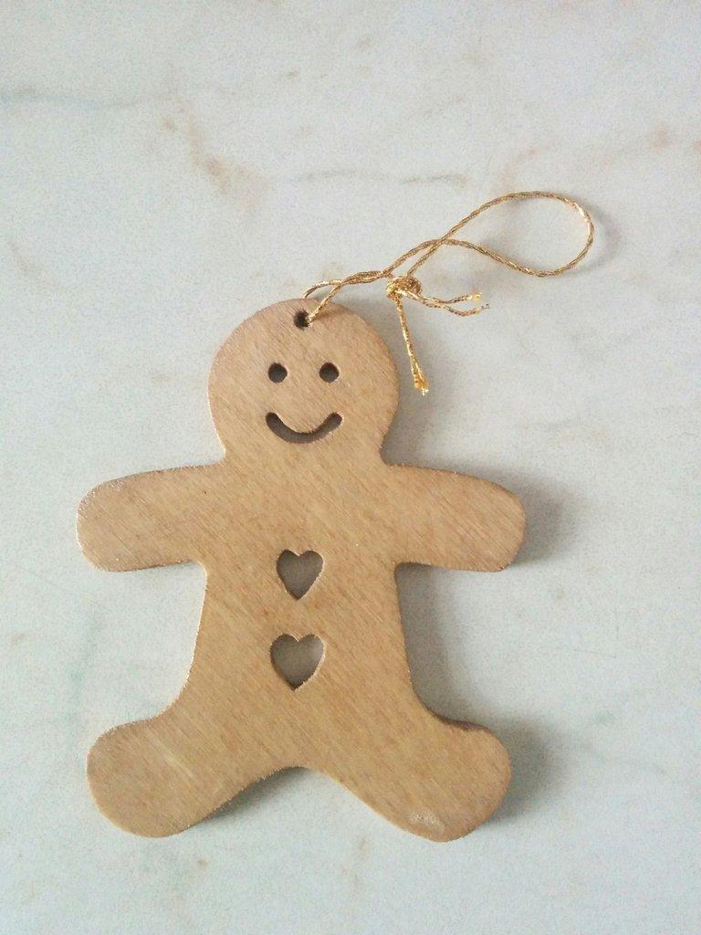 Addobbi per albero di Natale: omino di Natale