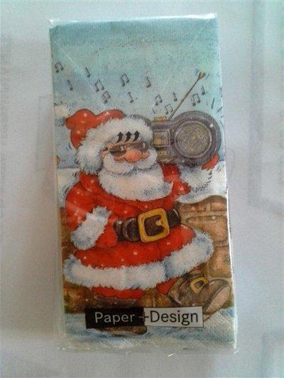 Fazzoletti di carta natalizi.