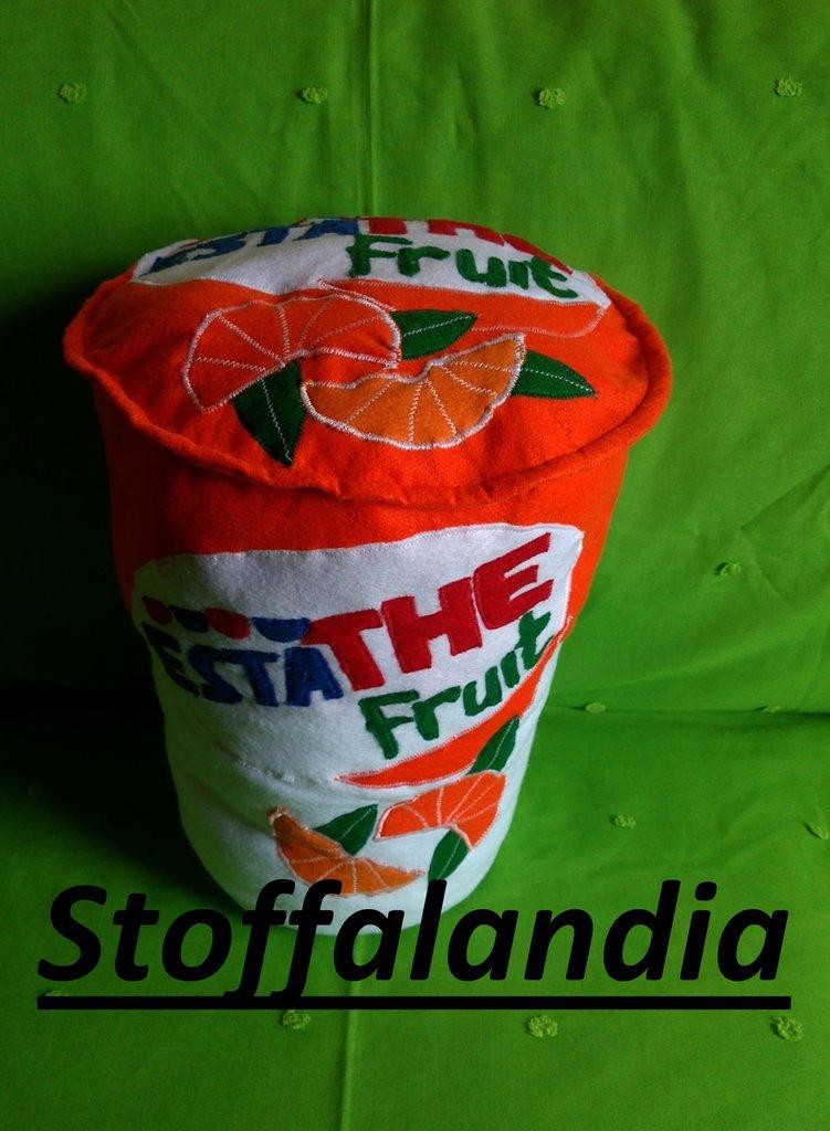 OFFERTA CUSCINO ESTATHE FRUIT GRANDE IDEA REGALO