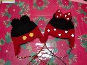 cappellini hand made minnie e topolino