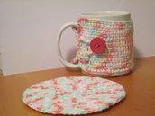 Copri tazza/mug uncinetto