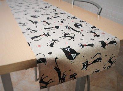 Runner tavolo con gatti - Arredo casa - Biancheria - Copritavolo