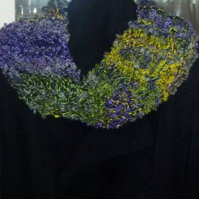Sciarpa scaldacollo anello  idea regalo scarf infinity