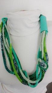 Collana verde calipso