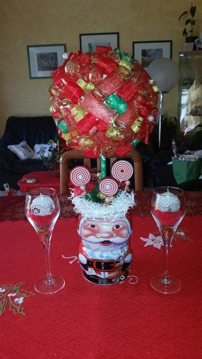 Centrotavola alberello natalizio