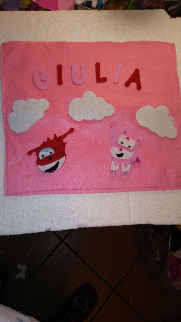 Portapigiama personalizzato per i bimbi