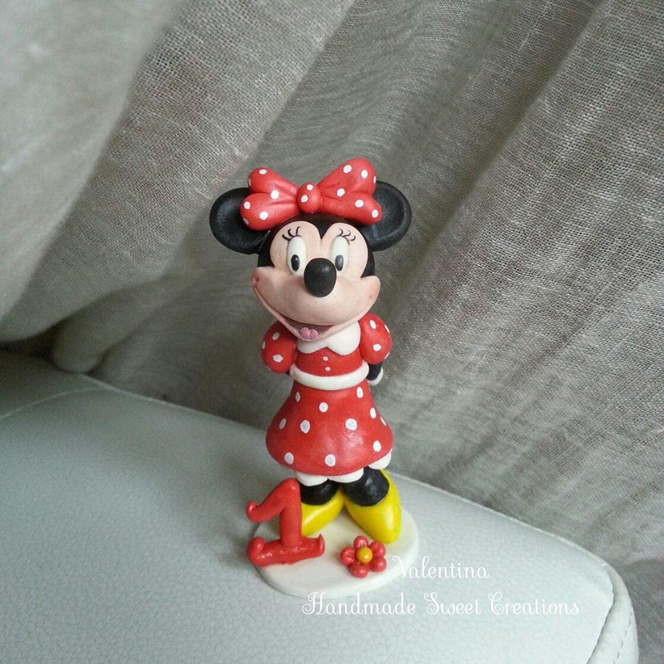 Cake topper Minnie- compleanno bimba