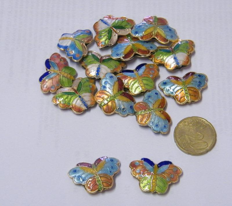 1 Farfalla (perle cinesi)
