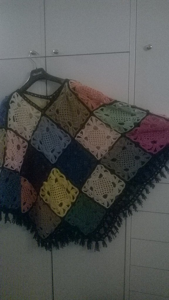 PONCHO MULTI COLOR