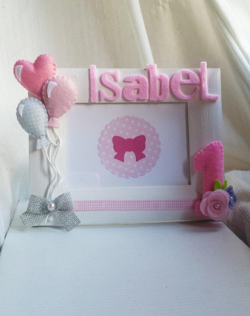 Cornice primo compleanno bambini cameretta di for Papillon bambino fai da te