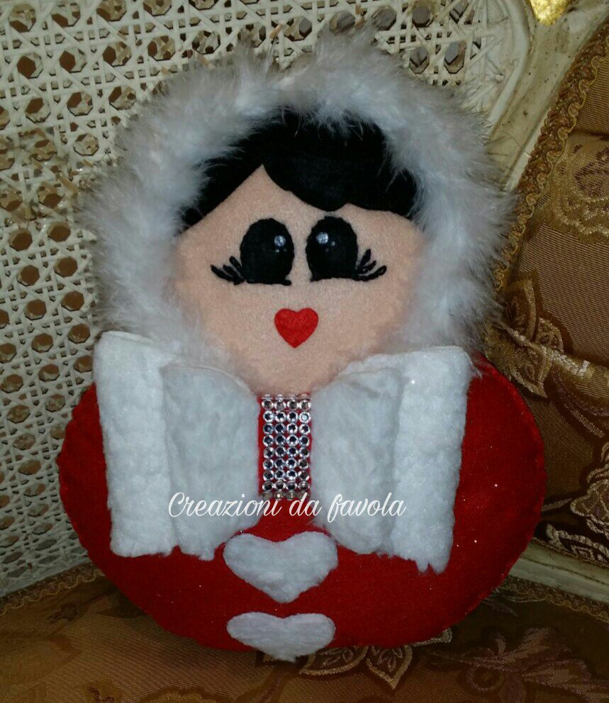 Bambola russa invernale