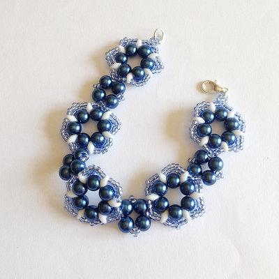 Bracciale Primula blu