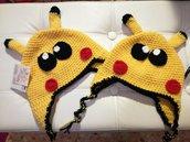 Berretto bimbo Pikachu in lana