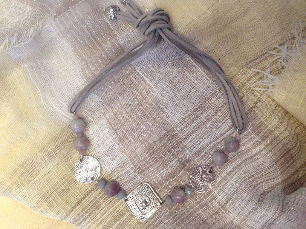 Collana artigianale etnica