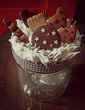 Vaso biscotti in Fimo