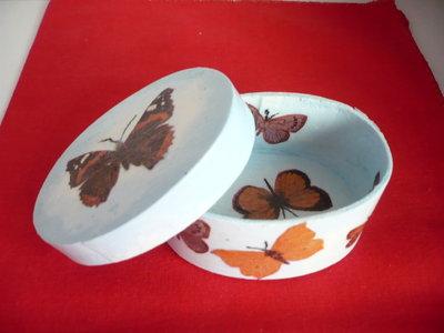 scatola farfalle