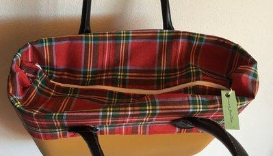 bordo 2 in 1 fascia street o bag compatibile classic o mini scozzese