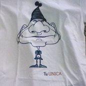 T-shirt vintage tuunica