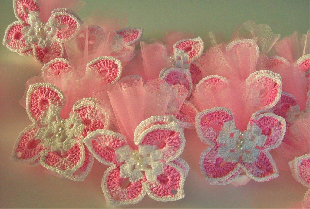 Farfalle bomboniera portaconfetti