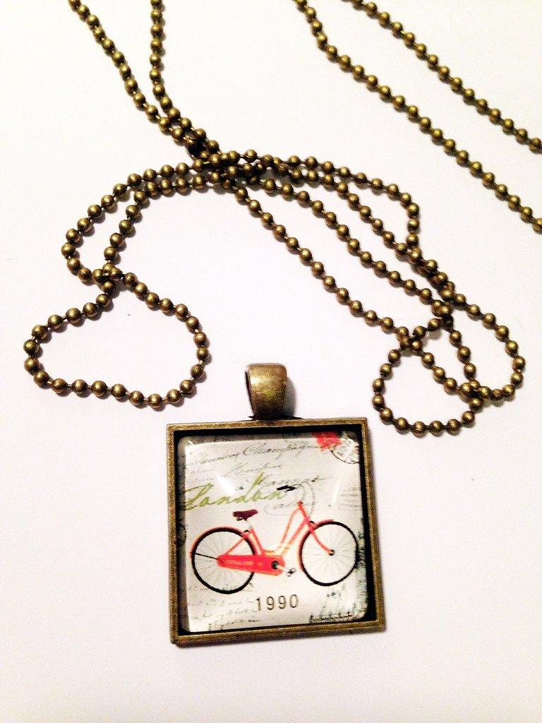 Cammeo Bicicletta quadrato