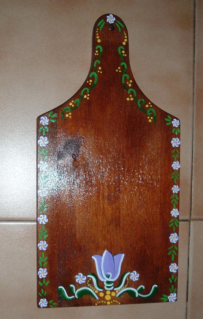 Tagliere Decorato -2 -