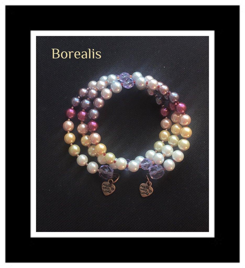 Bracciale Armonico Perle di Boemia