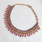 Collier Precious rosa oro