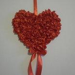 CUORE DA APPENDERE, cuore rosso san valentino, regalo romantico