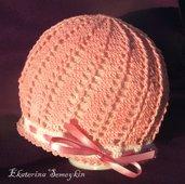 crochet lady hat
