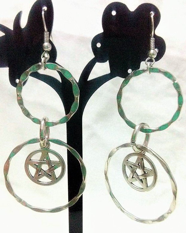 MAGIC PENTACLE EARRINGS