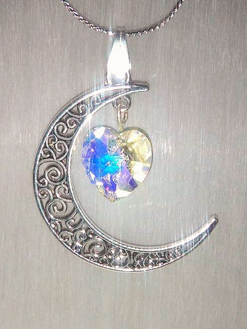 ARABESQUE MOON AND CRYSTAL HEART
