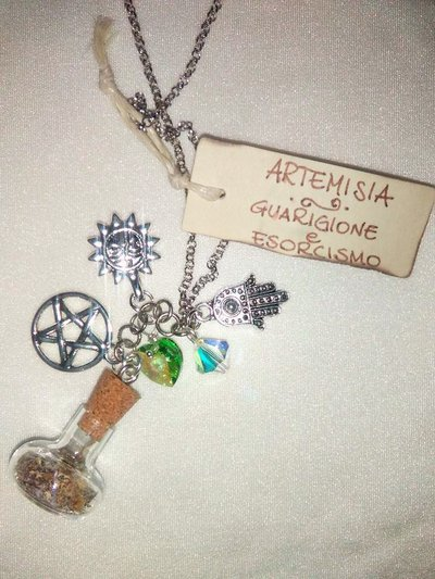FIALETTE MAGICHE Guarigione ed esorcismo - MAGIC VIAL Healing and Exsorcism