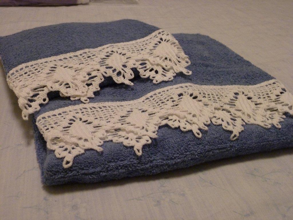 Asciugamano per un bagno elegante