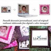 pannello/quadro personalizzato con foto - photo wall panel