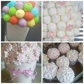 Centrotavola mashmallow a tema per la tua festa