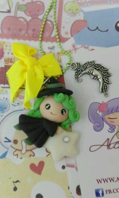 Collana Kawaii FIMO wicca wiccan streghine fortuna sogni strega alchemian witch