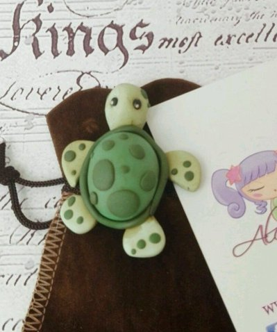 Soprammobile tartarughina tartaruga vegan sea mare estate fortuna longevità ooak