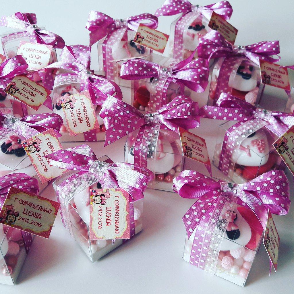 Popolare Compleanno Minnie Confetti decorati - minnie fucsia -minnie pois  QD46