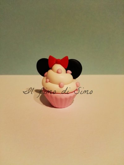 bomboniera battesimo nascita cupcake minnie topolina
