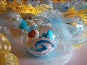 sfere di confetti segnaposto battesimo segnaposto comunione
