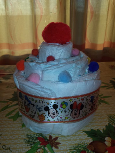 "Mini Torta Pannolini muffin ""angolo outlet"""
