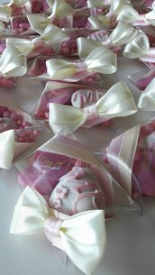 Confetti decorati - confettata nascita - confettata battesimo - bomboniere economiche - bomboniere originali - segnaposto battesimo