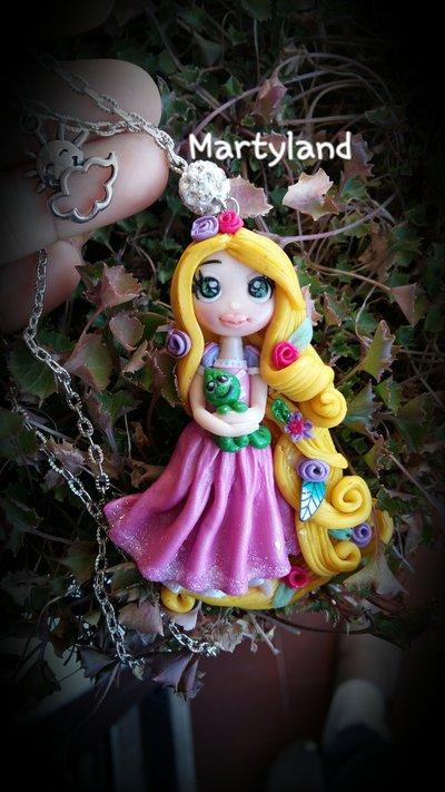 Collana rapunzel principessa