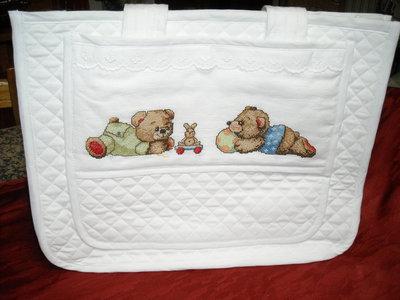 Borsa porta oggetti, porta pannolini, porta accessori, cambio bebè