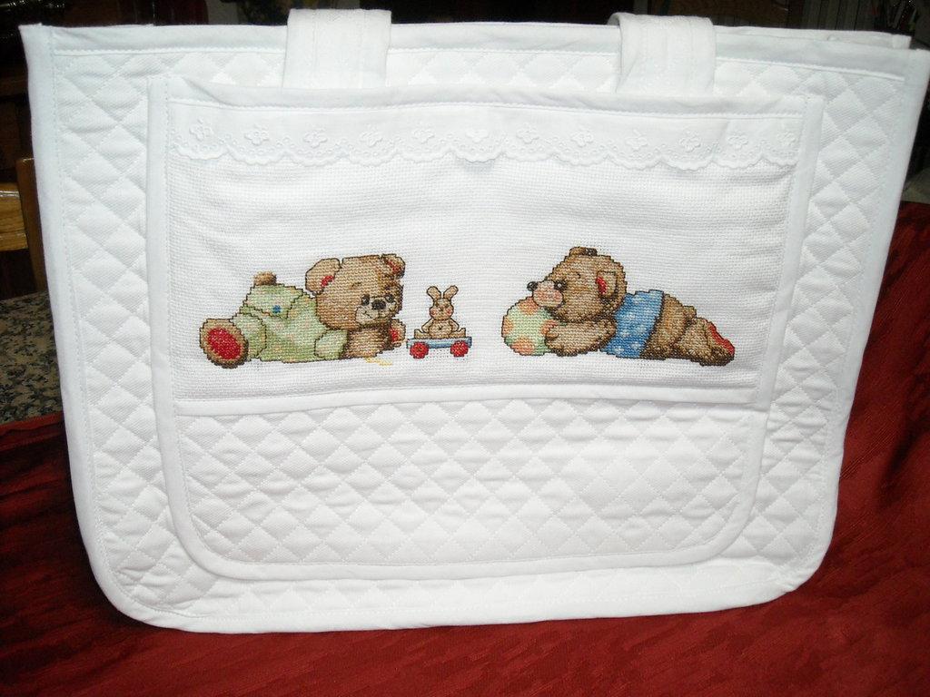 Borsa porta oggetti porta pannolini porta accessori for Accessori per neonati