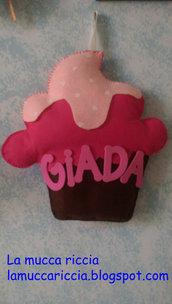 Cupcake - Fiocco nascita bambina