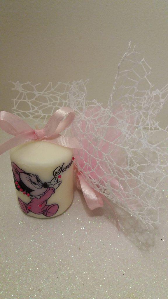 bomboniera candela personalizzate bambini OFFERTAAA